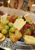 Cheese and fruit assortment